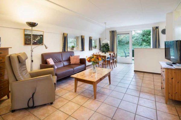 Bungalow Wildryck MW6 aangepaste woonkamer