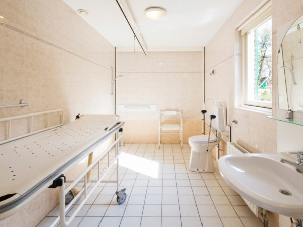 Duc de Brabant 10BTS aangepaste badkamer