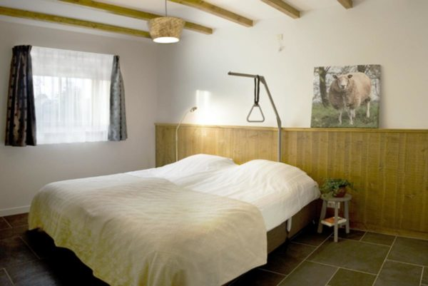 Vakantiehuis Gouda ZH043 aangepast bed