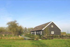 Luxe vakantiehuis op het erf van een boerderij