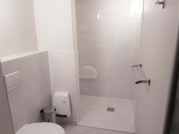 Appartement Blankeberge - 2 personen - West-Vlaanderen - aangepaste badkamer