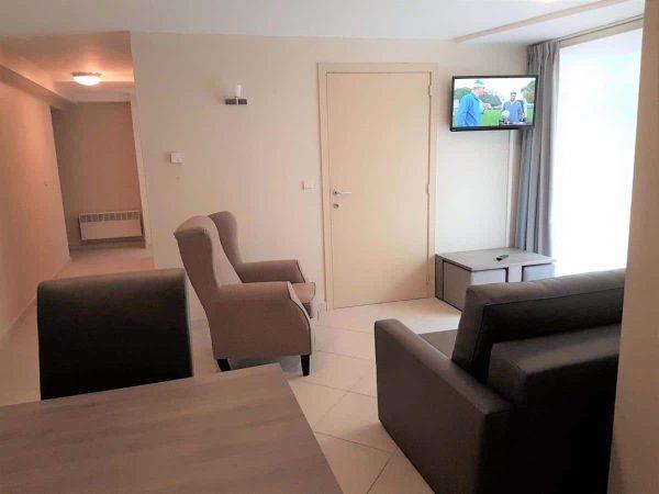 Appartement Blankeberge - 2 personen - West-Vlaanderen - woonkamer
