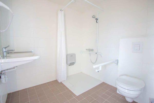 Appartement Westende - 2 personen - West-Vlaanderen - aangepaste badkamer