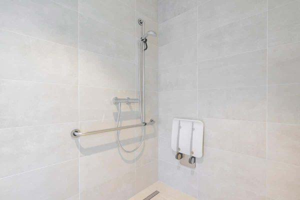 Appartement Zeebrugge - 2 personen - West-Vlaanderen - aangepaste douche
