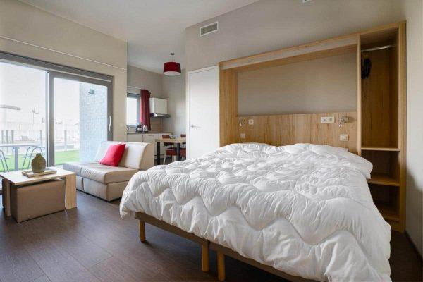 Appartement Zeebrugge - 2 personen - West-Vlaanderen - kamer