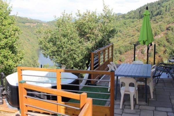 Gite de Valentine - 5 personen - Midi-Pyreneeën - balkon en jacuzzi