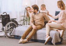 mindervalide vakantiehuis met gezin
