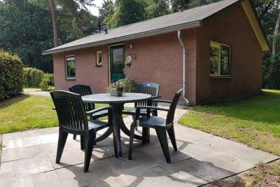 Mindervaliden vakantiehuisje Zelhem DG609 - 4 personen - Gelderland tuin