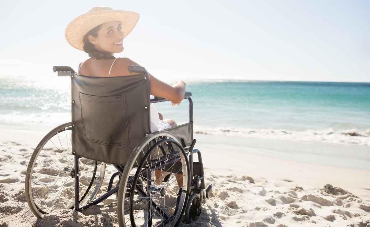 rolstoelvakantie aan zee