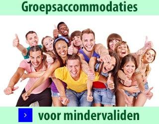 groepsaccommodaties voor mindervaliden banner