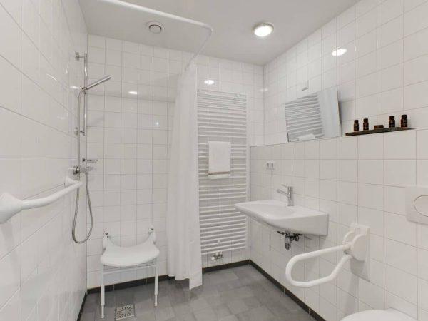 Hof van Saksen boerderij extra toegankelijk 8LT - 8 personen - Drenthe - aangepaste badkamer