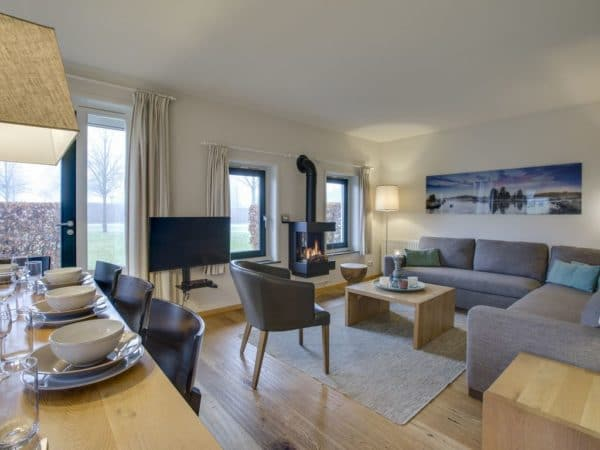 Hof van Saksen boerderij extra toegankelijk 8LT - 8 personen - Drenthe - woonkamer