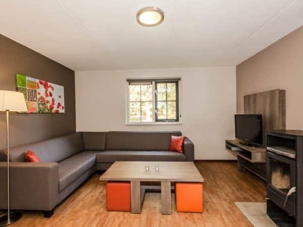 Landal Coldenhove Extra toegankelijke bungalow 8LT - 8 personen - Veluwe - Nederland - woonkamer