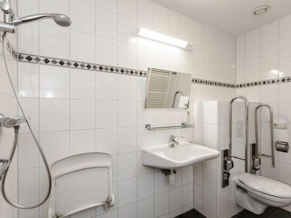 Landal Coldenhove Extra toegankelijke bungalow type 6LT - 6 personen - Veluwe - Nederland - aangepast toilet