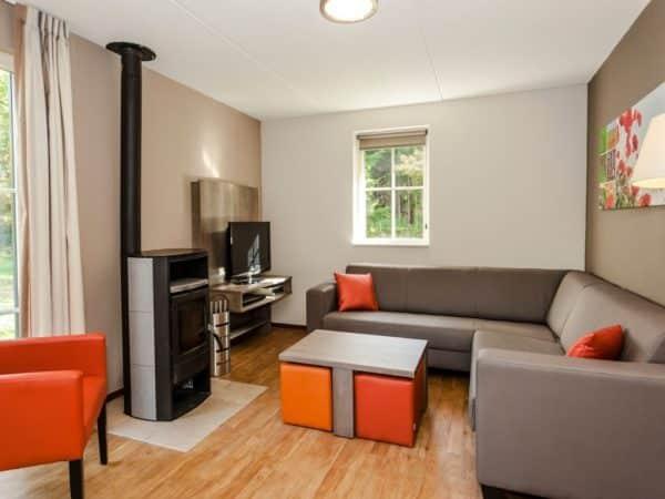Landal Coldenhove Extra toegankelijke bungalow type 6LT - 6 personen - Veluwe - Nederland - woonkamer