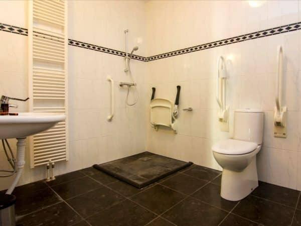 Landal De Cauberg Extra toegankelijk appartement 4BL1 - 4 personen - Limburg - Nederland - aangepast toilet