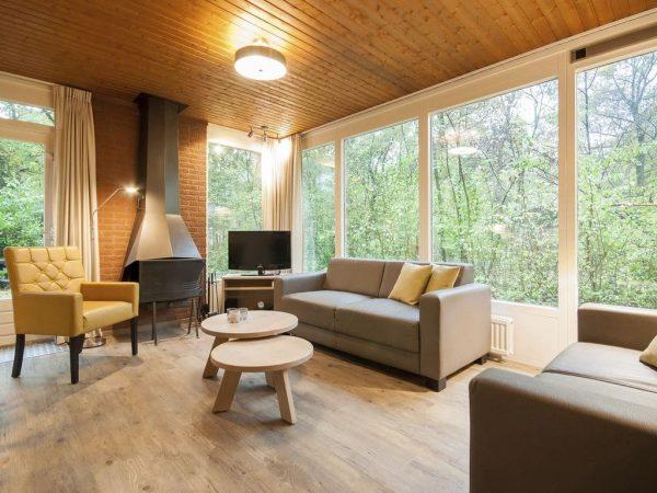 Landal Heihaas Extra toegankelijke bungalow 6CT - 6 personen - Gelderland - Nederland - woonkamer