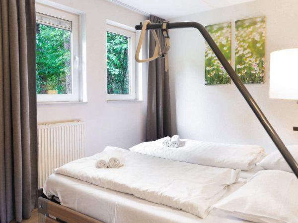 Landal Landgoed 't Loo Extra toegankelijke bungalow 6CT - 6 personen - Veluwe - Nederland - aangepaste slaapkamer