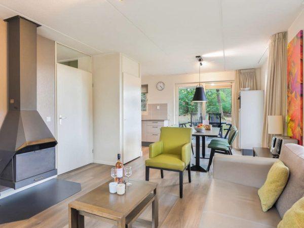 Landal Landgoed 't Loo Extra toegankelijke bungalow 6CT - 6 personen - Veluwe - Nederland - woonkamer