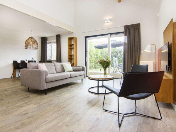 Landal Ooghduyne Extra toegankelijke bungalow 6CT - 6 personen - Noord-Holland - Nederland - woonkamer