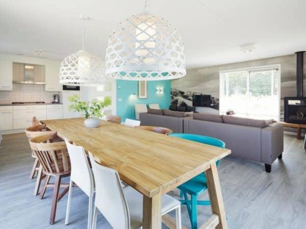 Landal Sluftervallei extra toegankelijke bungalow 10LT - 10 personen - Waddeneilanden - woonkamer