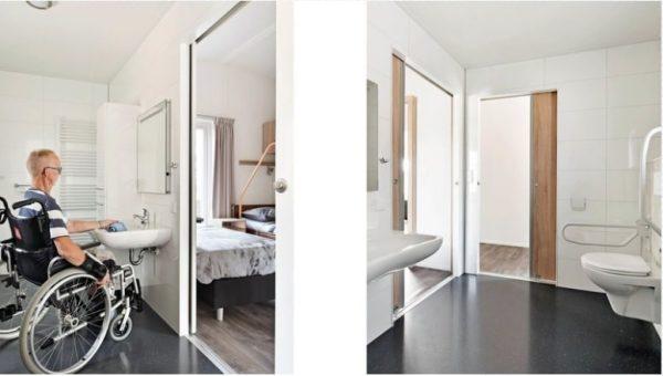 Mindervalide Waterwoning - 4 personen - Gelderland - aangepast toilet