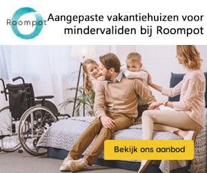 roompot aangepaste vakantiehuizen banner