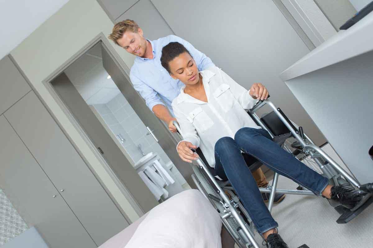 rolstoelvriendelijke hotelkamer